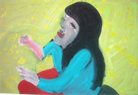 Alergie II, 70 x 100 cm, akryl na sololitu