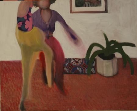BDŠZ - Makarena I, 80 x 110 cm, akryl na plátně, 2012