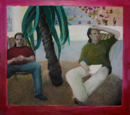 VŠUP, 30 x 35 cm, akryl na překližce, 2005