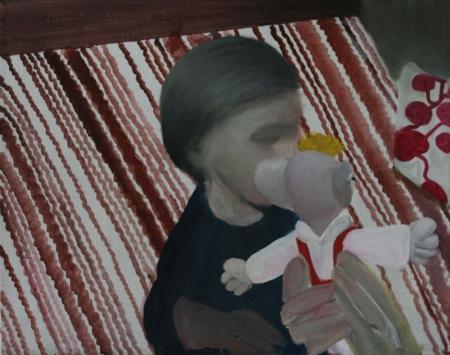 BDŠZ - Hurvínek, 60 x 80 cm, akryl na plátně, 2012