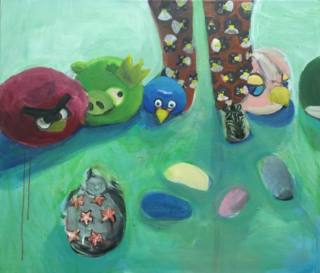 Angry birds,  x  cm,
