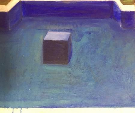 Sumec bez sumce,  x  cm, akryl na plátně