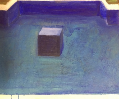 Sumec bez sumce, 40 x 50 cm, akryl na plátně, 2018