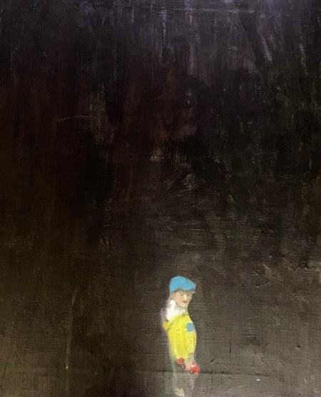 Alois,  x  cm, akryl na plátně