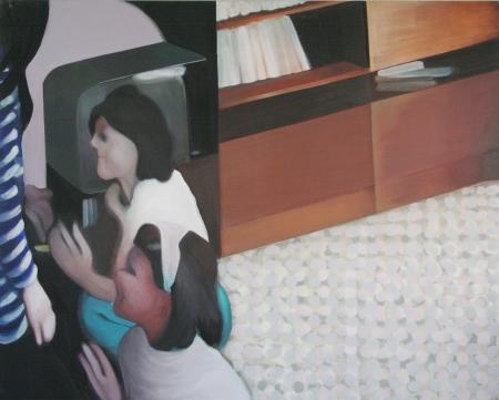 Jesus Christ Superstar, 145 x 170 cm, akryl na plátně, 2008