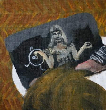 JoJo, 20 x 20 cm, akryl na plátně, 2012