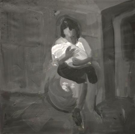 Kolika, 30 x 30 cm, akryl na plátně, 2010