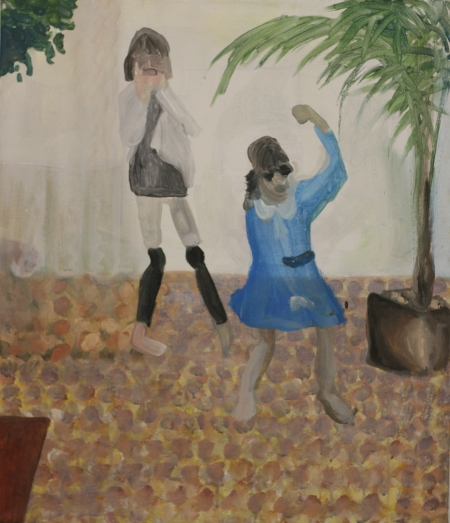 Bytové divadlo Šárky Zadákové - Jackson I, 80 x 60 cm, akryl na plátně, 2011